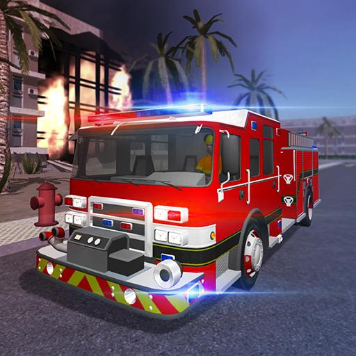 Fire Engine Simulator APK MOD Astuce