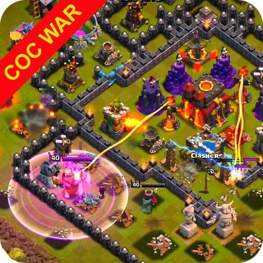 War layouts for Clash of Clans APK MOD Astuce