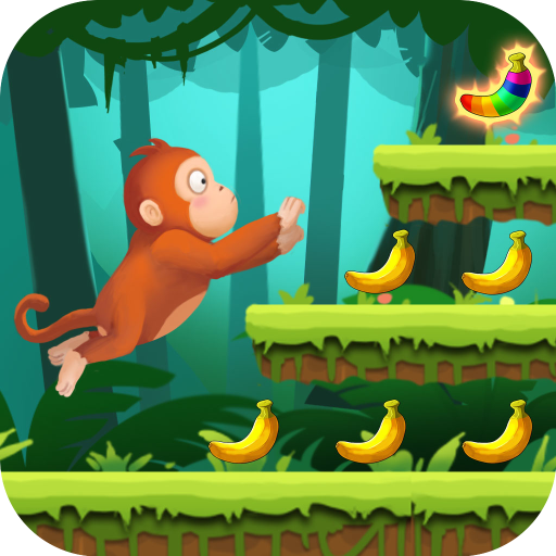 Jungle Monkey Run APK MOD Astuce