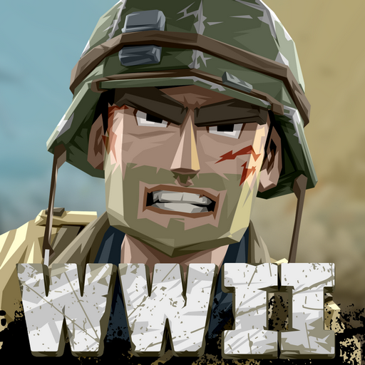 World War Polygon Jeu de tir WW2 APK MOD Astuce